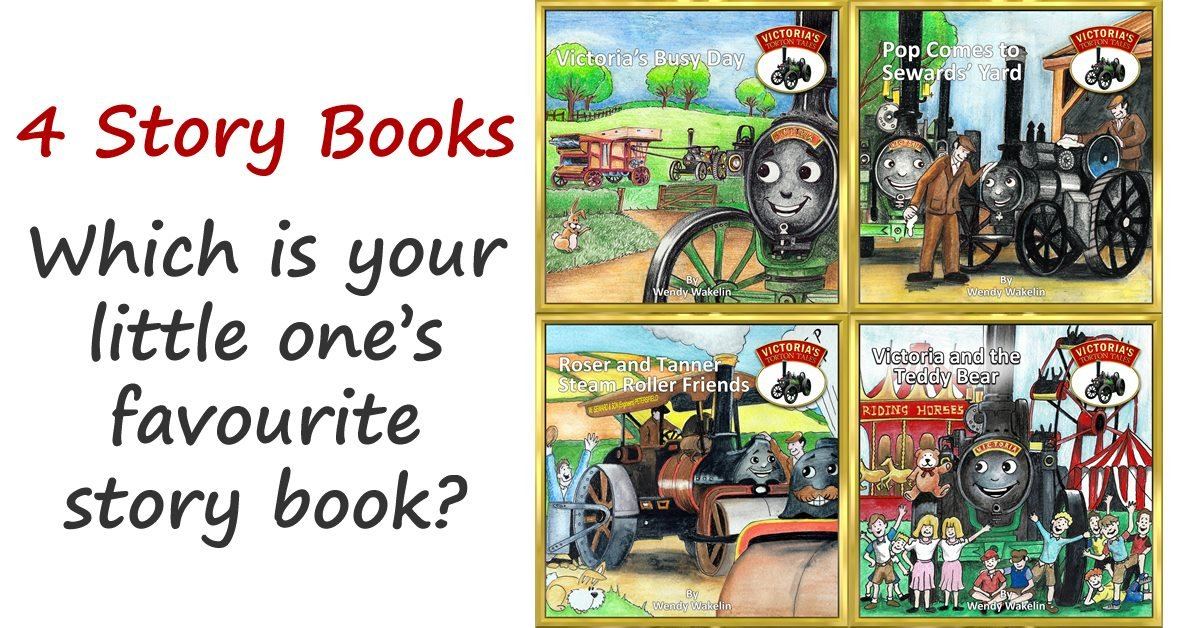 The 4 books from Victorias Torton Tales