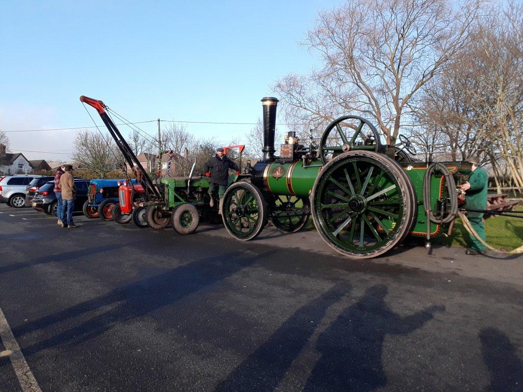 Victoria and Tractors