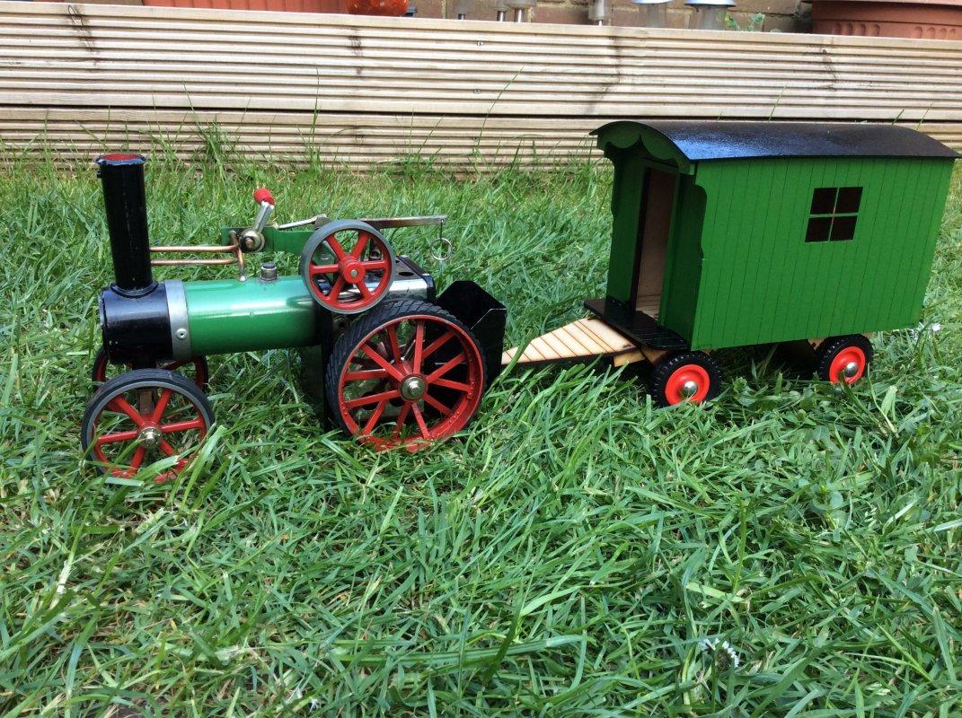 Model and Wagon