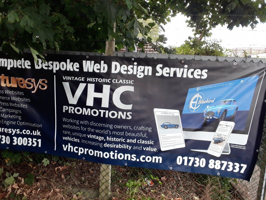 Futuresys and Vintage Historic Classic Banners