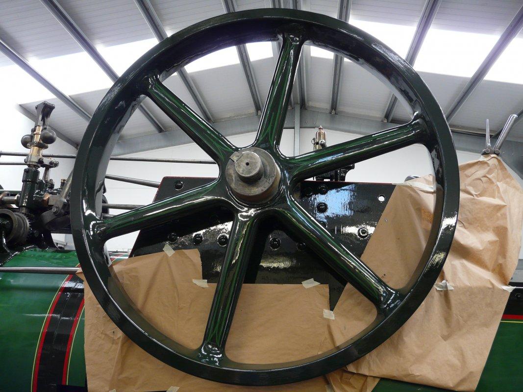 Shiny flywheel
