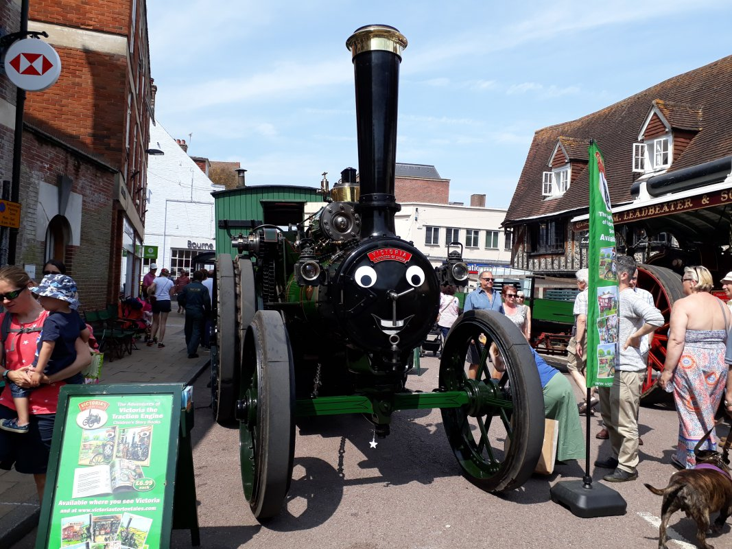 Victoria at Petersfield Spring Festival