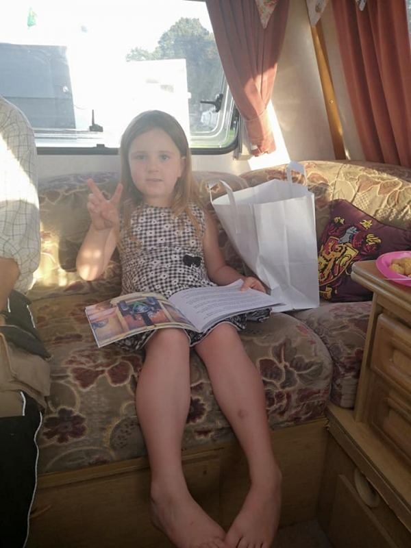 Enjoying Victoria's Books