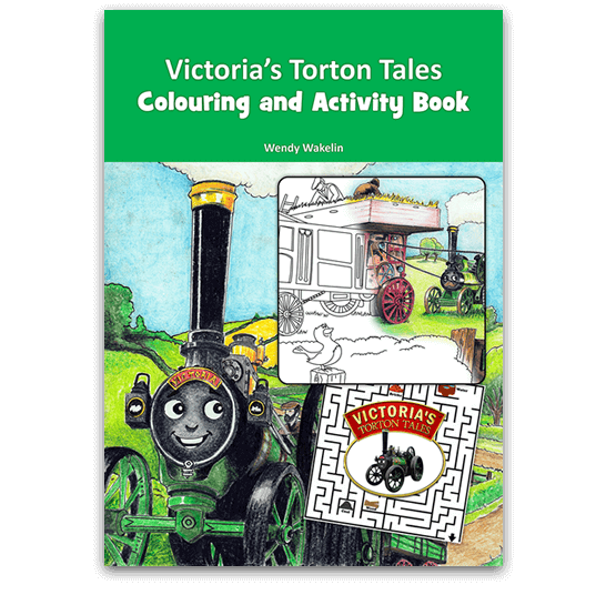 Cover of Victoria's Torton Tales Colouring and Activity Book