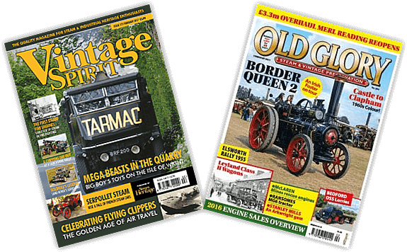 As seen in... Vintage Spirit and Old Glory Magazines