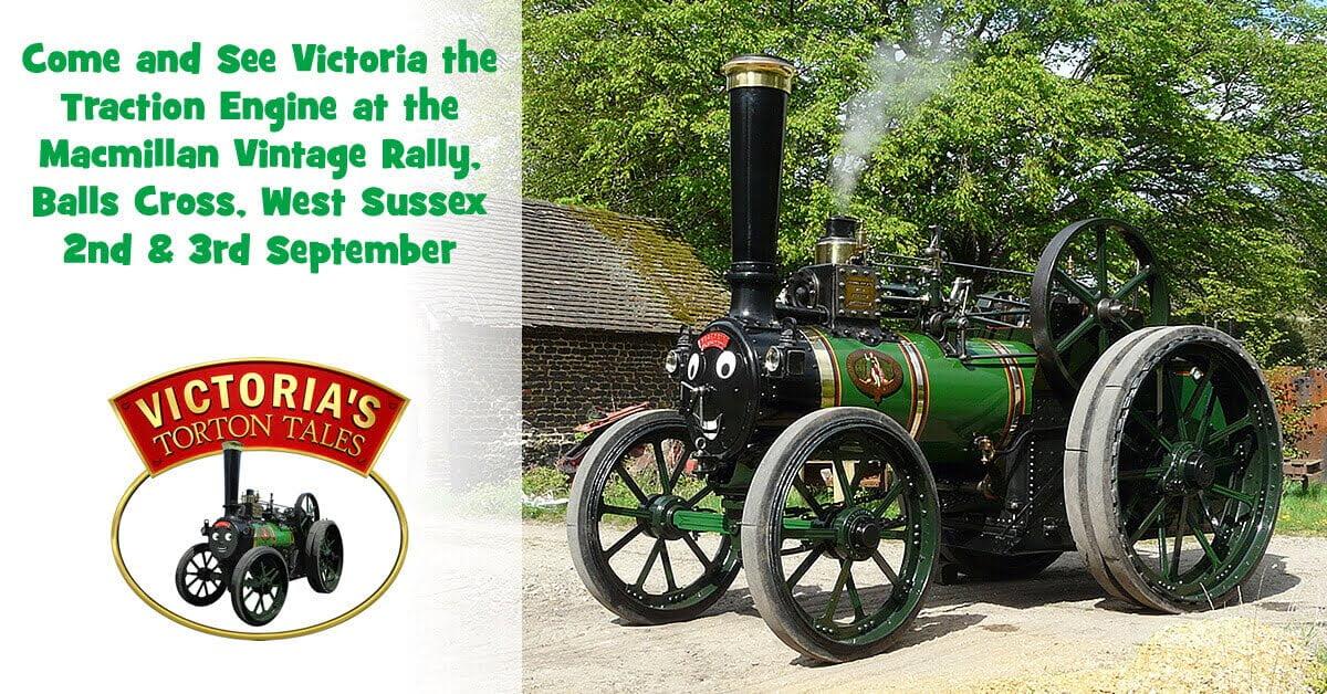 Macmillan Vintage Rally 2017, Balls Cross, West Sussex