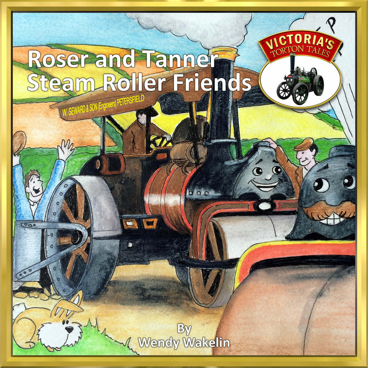 Roser and Tanner Steam Roller Friends front cover