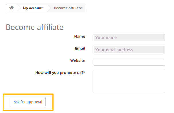 become affiliate form