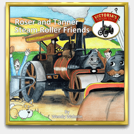 Cover Roser and Tanner Steam Roller Friends