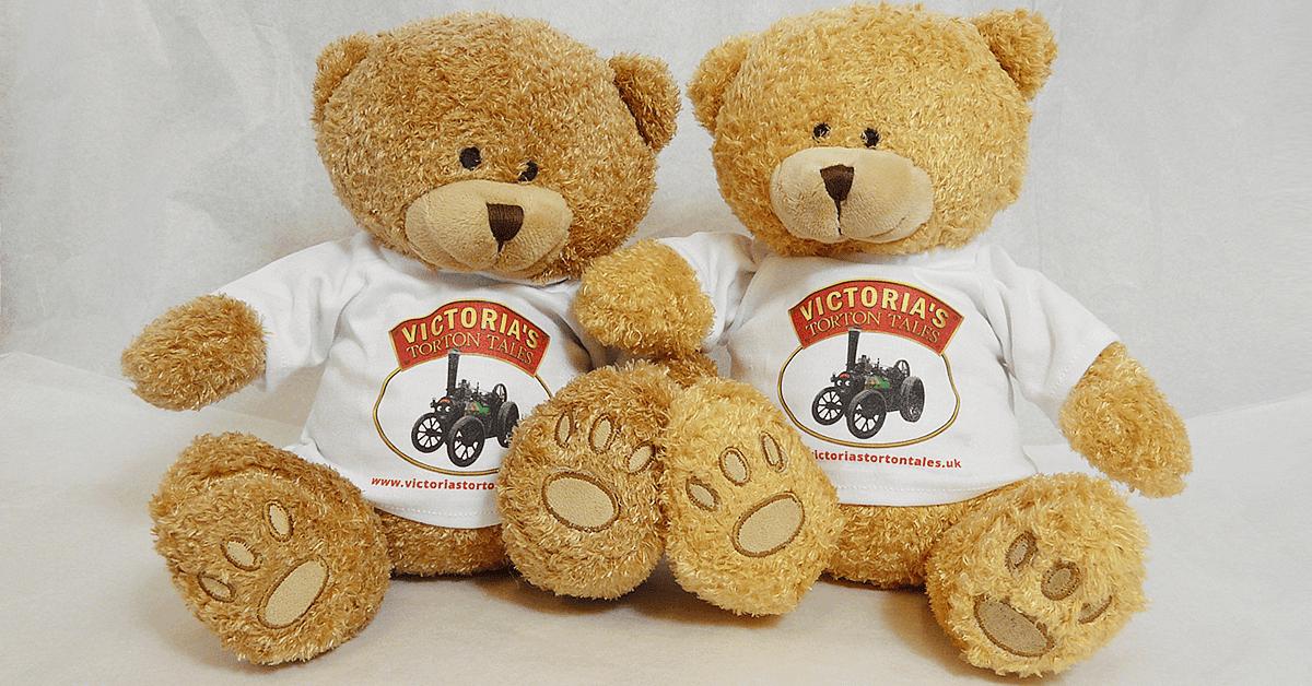 Victorias Torton Tales Souvenir Teddy Bears