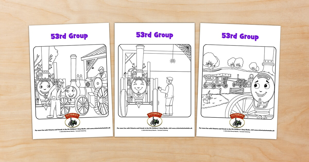 53rd Group Colouring Pictures2