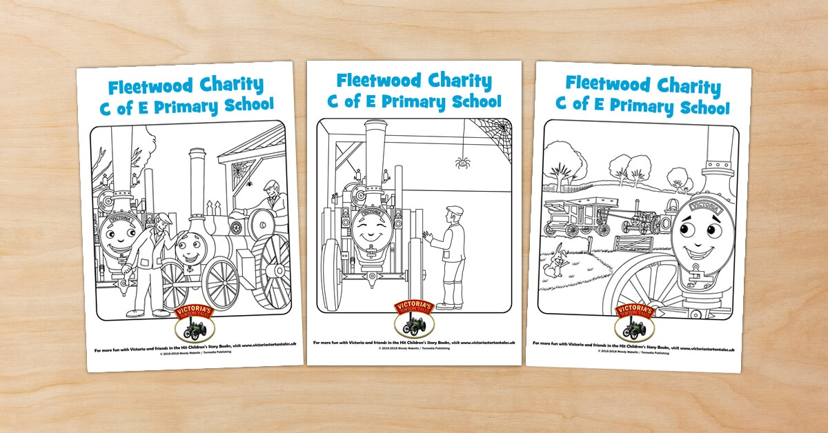 Fleetwood Charity C of E Primary School Colouring Pictures