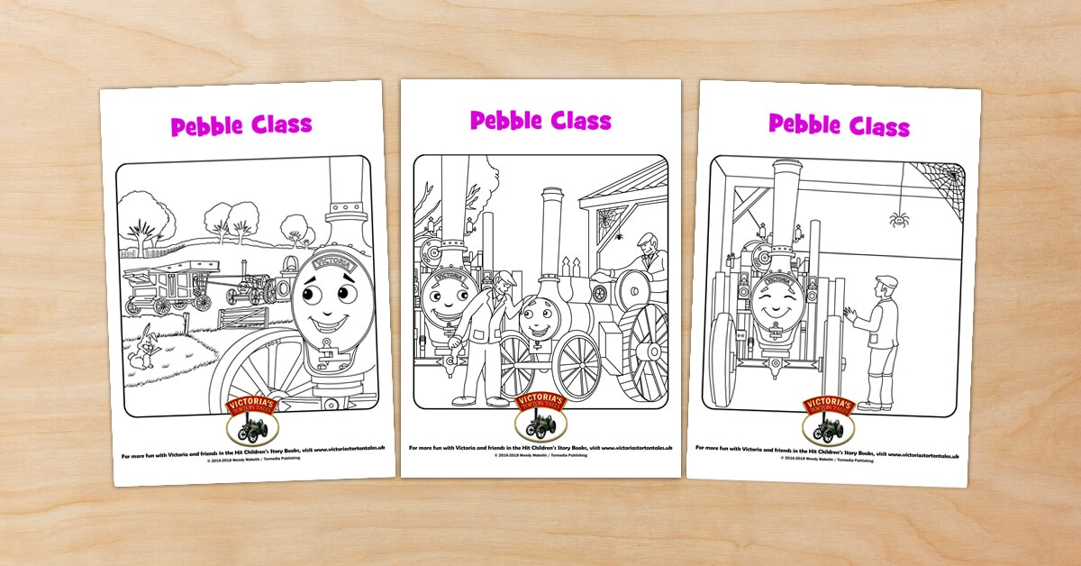 Pebble Class Colouring Pictures