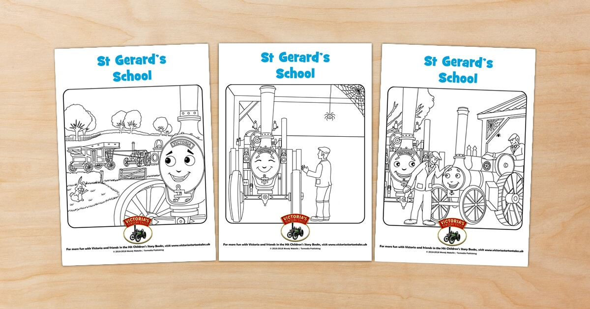 St Gerards School Colouring Pictures