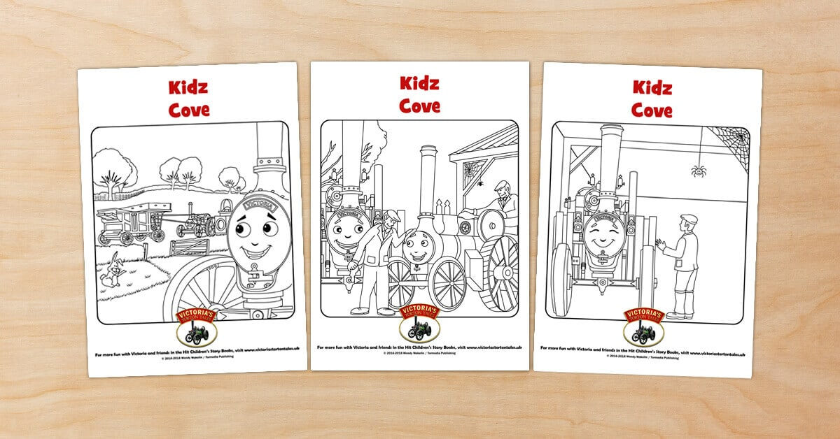 Free Victorias Torton Tales colouring pictures for Kidz Cove