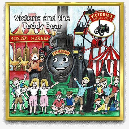 Cover of Victoria and the Teddy Bear, children's story book