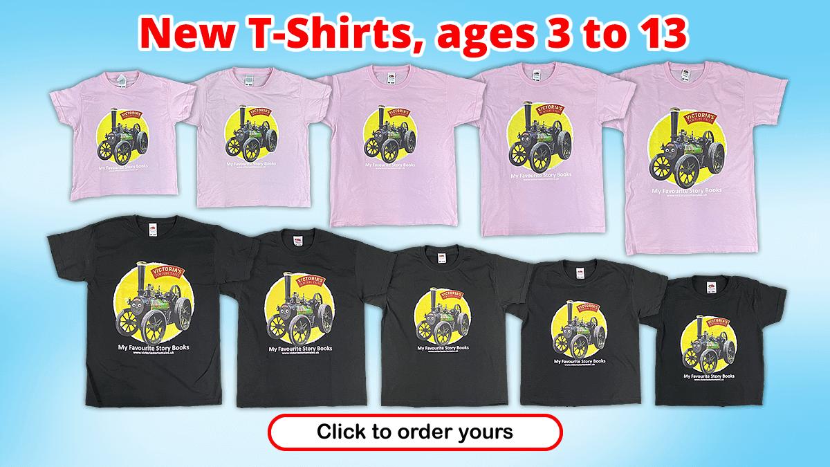 Victoria's Torton Tales T-Shirts