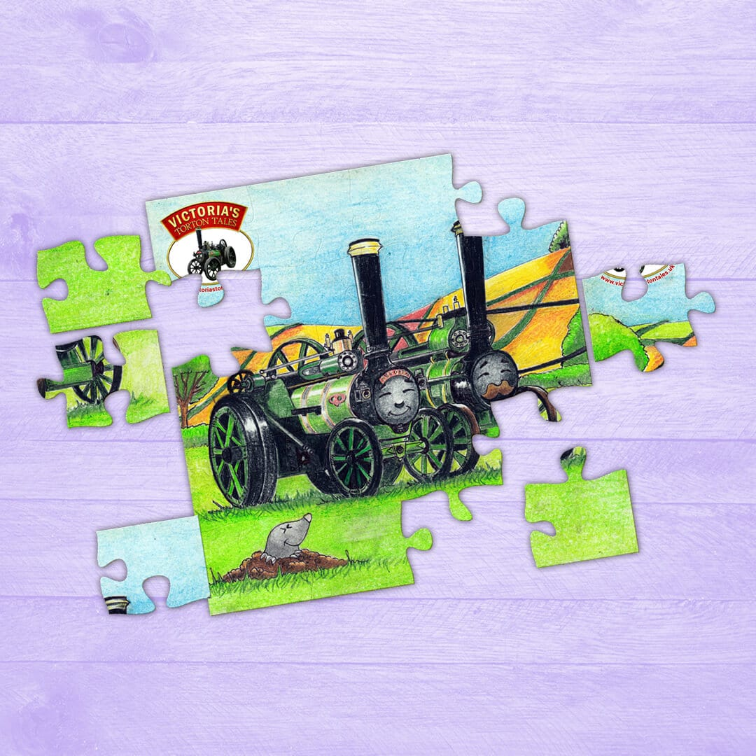 Jigsaw Puzzle – Victoria and Albert the Traction Engines Snoozing