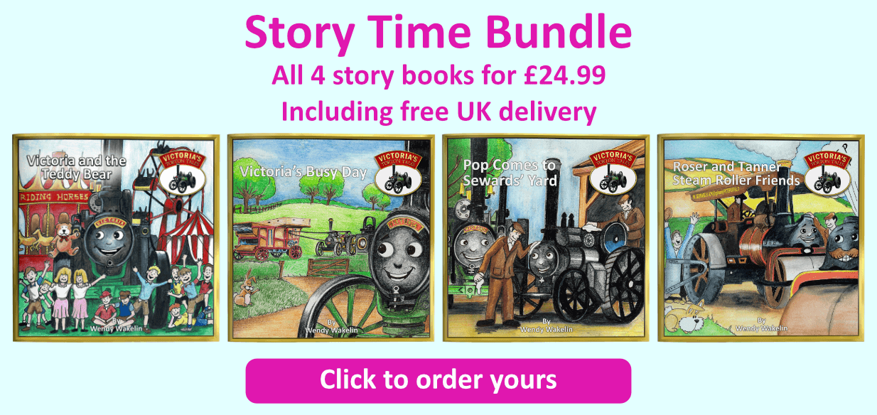 Story Time Bundle Banner Button