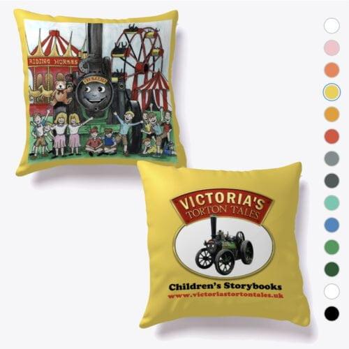 VTT Victoria and the Teddy Cushion