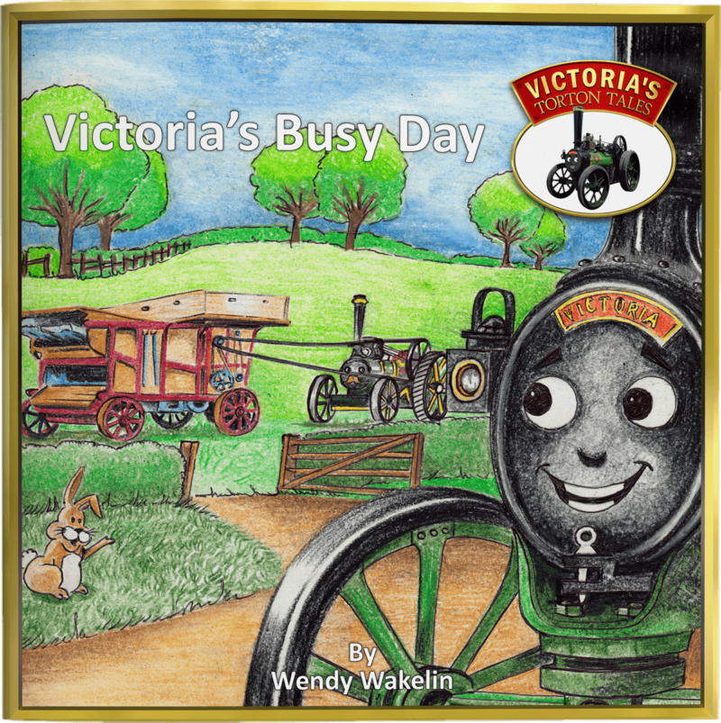 Victoria's Busy Day Children's Picture Story Book