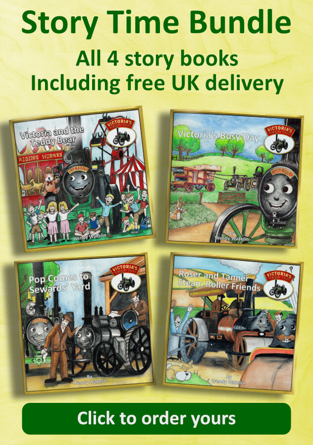 Victoria's Torton Tales 4 Story Book Bundle Free Uk Delivery