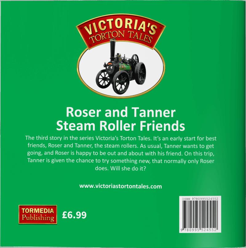 Roser and Tanner Steam Roller Friends Back Cover