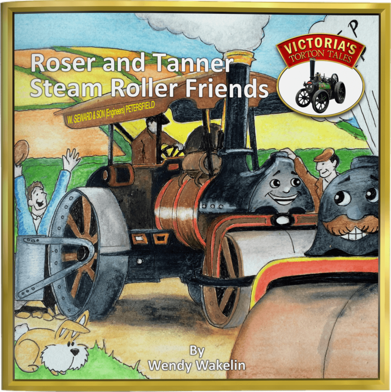 Roser and Tanner Steam Roller Friends Children's Picture Story Book