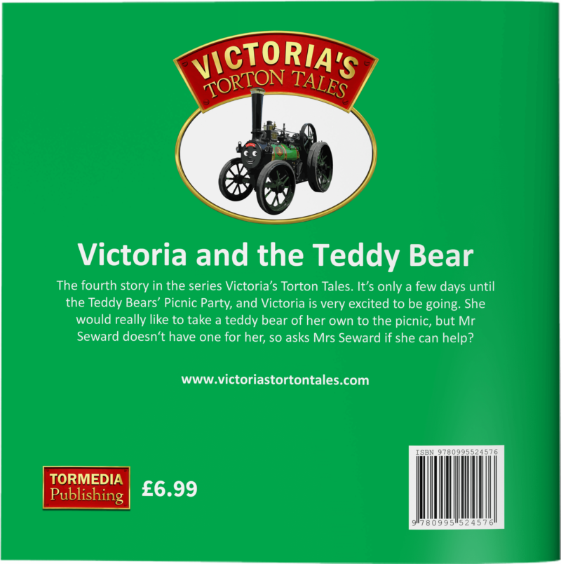 Victoria and the Teddy Bear Back Cover