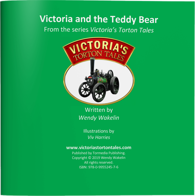 Victoria and the Teddy Bear Page 1