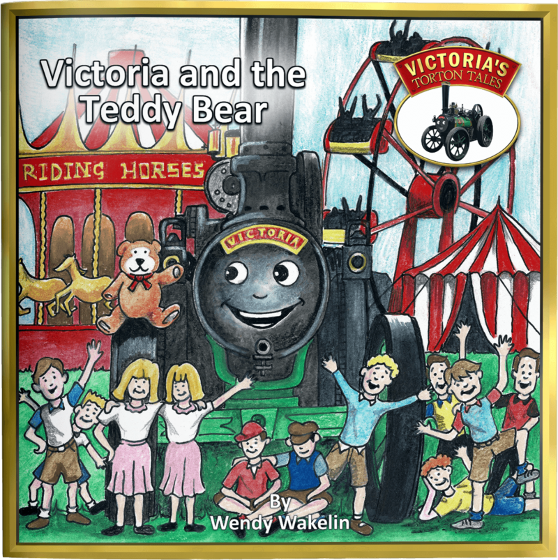 Victoria's and the Teddy Bear Children's Picture Story Book