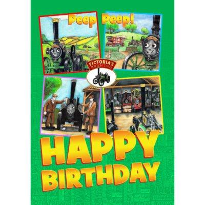 Happy Birthday Card - Peep Peep! - Front