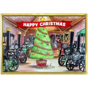 Happy Christmas Greetings Card