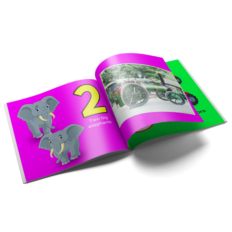 Let's Count With Victoria 1 2 3, Victoria's Torton Tales Early Learning Counting Book, Count 2