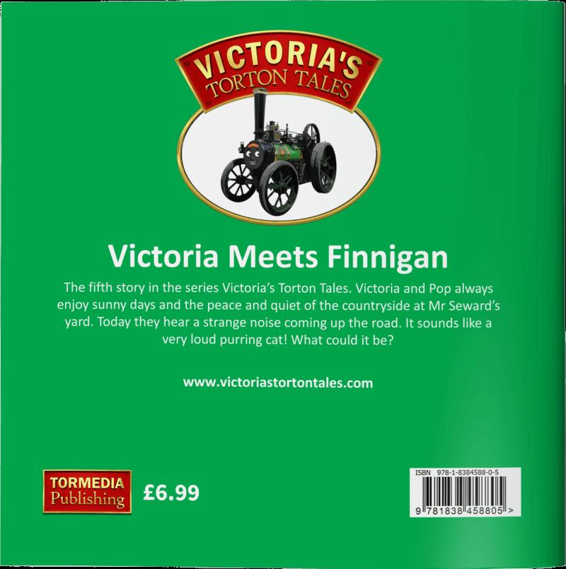 Victoria Meets Finnigan - Back Cover