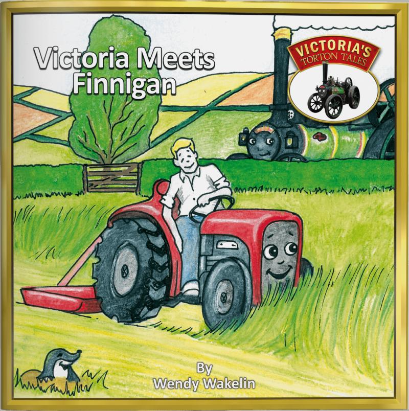 Victoria Meets Finnigan Children's Picture Story Book