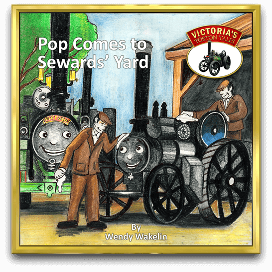 Cover of Pop Comes to Sewards' Yard from Victoria's Torton Tales children's storybooks